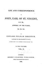 Life and correspondence of John, Earl of St. Vincent: Volume 2