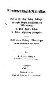 Gesammelte prosaische schriften: Band 1