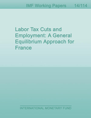Labor Tax Cuts and Employment  A General Equilibrium Approach for France PDF
