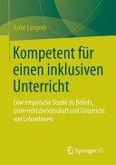 Kompetent f  r einen inklusiven Unterricht PDF