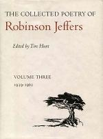 The Collected Poetry of Robinson Jeffers: 1938-1962