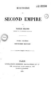 Histoire du second Empire: Volume 4