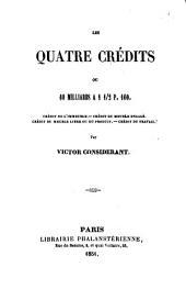 Les quatre Credits ou 60 milliards a 1 1/2: Page100