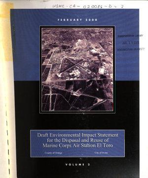 Marine Corps Air Station El Toro  Disposal and Reuse PDF