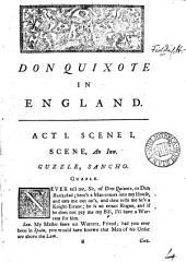Don Quixote in England. A comedy: Volume 4