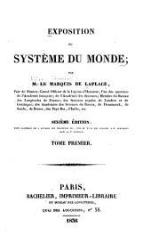 Exposition du système du monde: Volume1