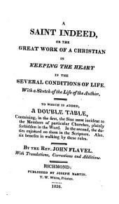 A saint indeed: or, The great work of a Christian in keeping the heart in the several conditions of life