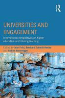 Universities and Engagement PDF