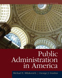 Public Administration in Ameri CA
