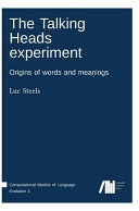 The talking heads experiment   origins of words and meanings PDF