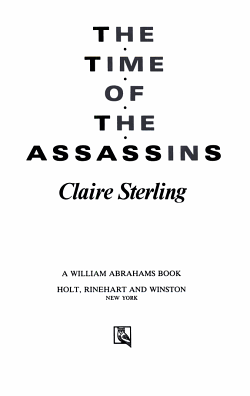 The Time of the Assassins PDF