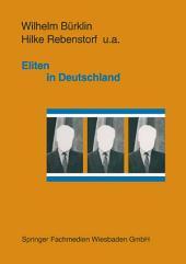 Eliten in Deutschland: Rekrutierung und Integration