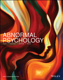 Abnormal Psychology  6ce WileyPLUS Learning Space Card   DSM 5 Student Guide   Loose Leaf Print Companion