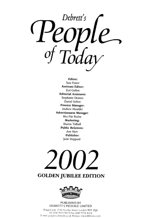 People of Today PDF