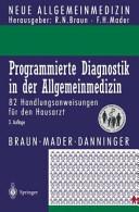 Programmierte Diagnostik in der Allgemeinmedizin PDF