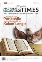 Majalah Madrasatul Qur an Times Edisi 6  PDF