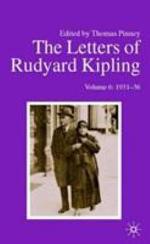 The Letters of Rudyard Kipling: 1931-36