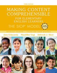 Making Content Comprehensible For Elementary English Learners Book PDF