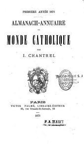 Almanach annuaire du monde catholique