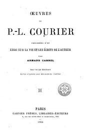 Oeuvres de P.-L. Courier