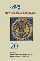 New Medieval Literatures 20 PDF