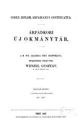 Árpádkori új okmánytár: 890 - 1235, 6. kötet