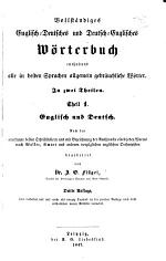 Complete dictionary of the English and German and German and English languages