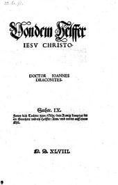 Von dem Helffer Jesu Christo