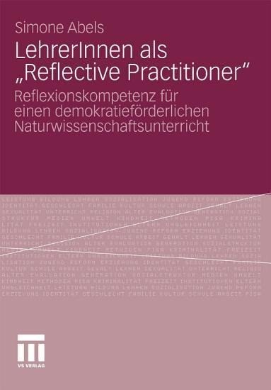 LehrerInnen als    Reflective Practitioner    PDF