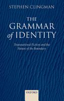 The Grammar of Identity PDF