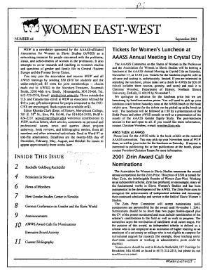 Women East west PDF