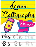 Learn Calligraphy For Kids Book PDF