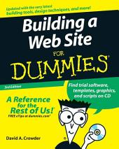 Building a Web Site For Dummies: Edition 3