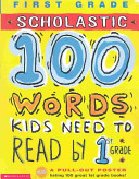 100 Words Kids Need to Read by 1st Grade Book
