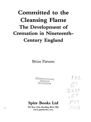 Committed to the Cleansing Flame PDF