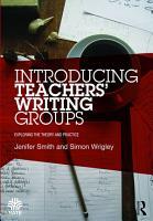 Introducing Teachers    Writing Groups PDF
