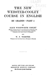 The New Webster-Cooley Course in English ...