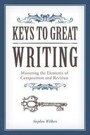 Keys to Great Writing PDF