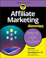 Affiliate Marketing For Dummies PDF