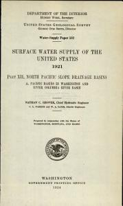 Water Levels and Artesian Pressure in Observation Wells in the United States PDF
