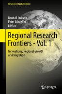 Regional Research Frontiers - Vol. 1