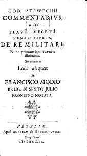 Coniectanea Ad Sexti Iulii Frontini Libros Strategematum