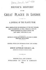 Defoe s History of the Great Plague in London PDF