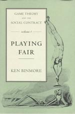 Game Theory and the Social Contract: Playing fair