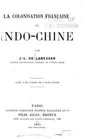 La colonisation française en indo-Chine