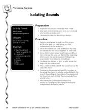 Environmental Print & Phonological Awareness: Isolating Sounds