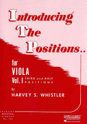 Introducing the Positions for Viola - Volume 1