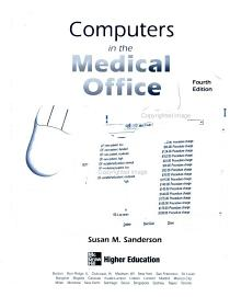 Computers in the Medical Office PDF