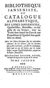 Bibliothèque janséniste: Volume2