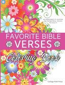 Favorite Bible Verses Coloring Book